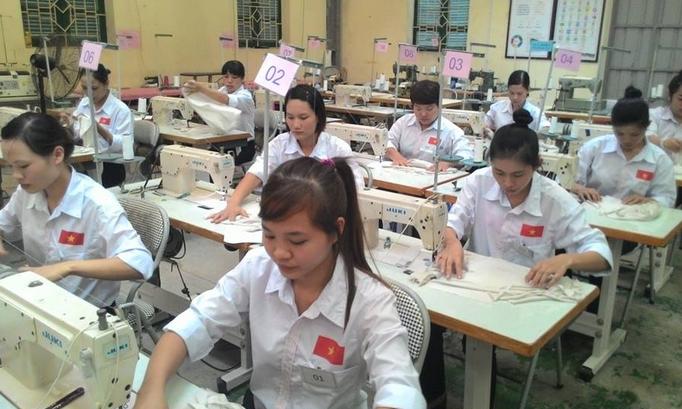 Công ty cổ phần du học Thanh Giang thông báo tuyển sinh tháng 8 năm 2016 đơn hàng may mặc