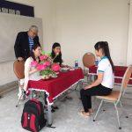 Du học Thanh Giang phỏng vấn học viên