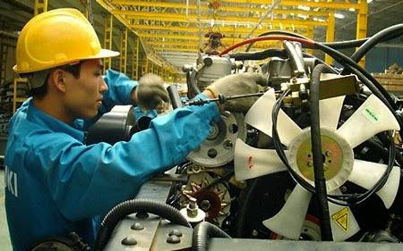 Công ty cổ phần du học Thanh Giang thông báo tuyển sinh tháng 8 năm 2016 đơn hàng cơ khí