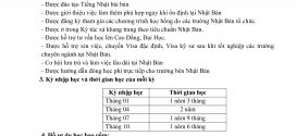 Chi phí du học Nhật Bản tại Thanh Giang Seikou